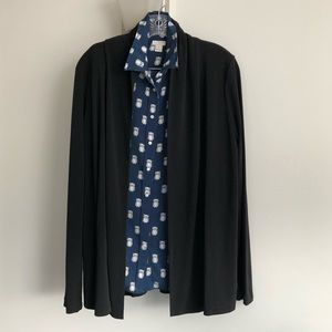 EUC Lands End Viscose Cardigan